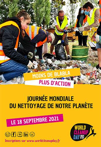 World Clean Up Day au Vuache